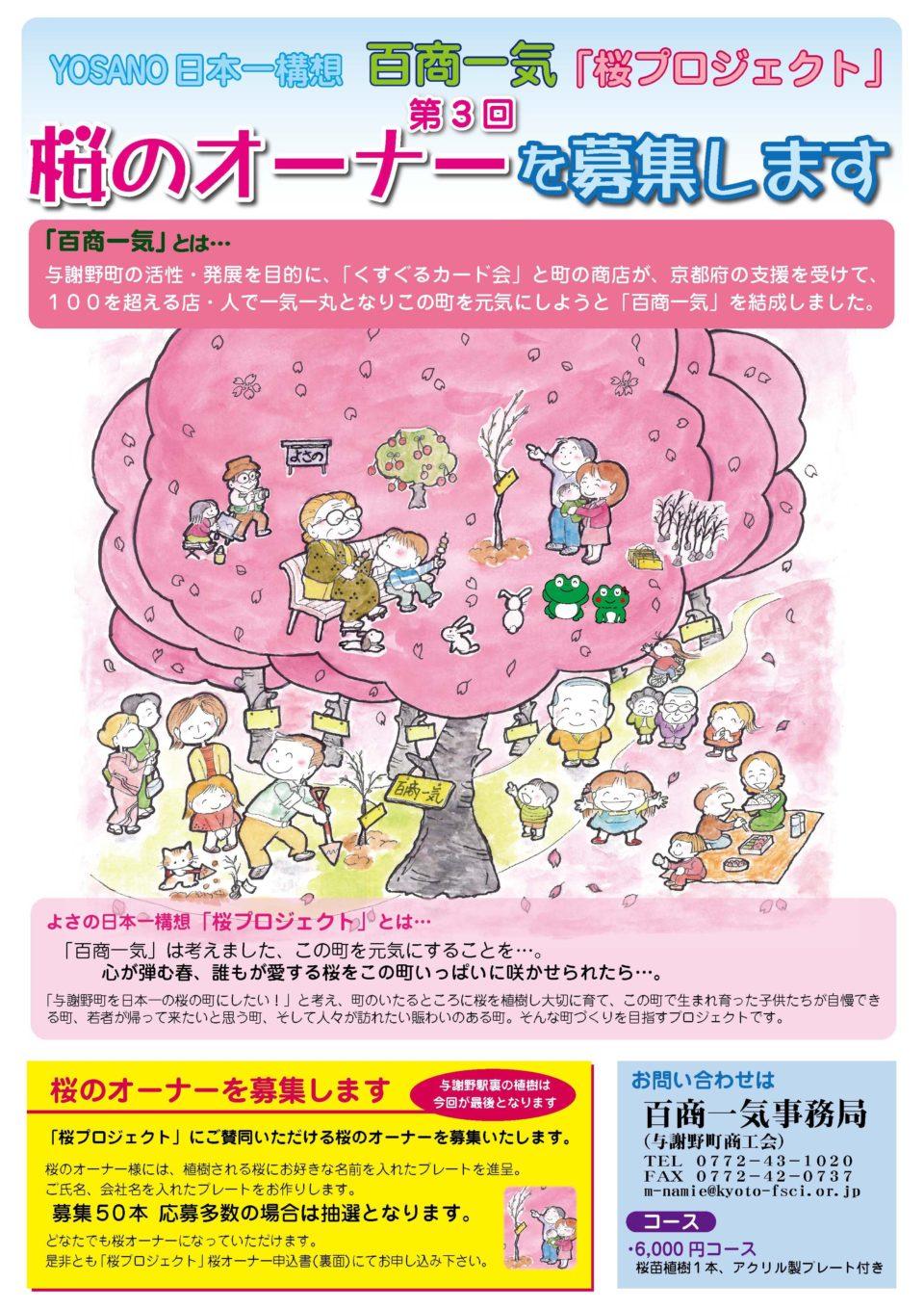 百商一気「桜プロジェクト」